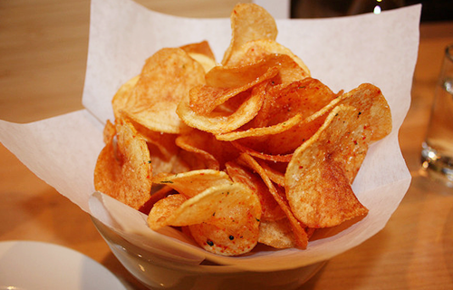 chips-bakje