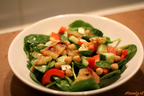 spinazie-salade-gegrilde-appel6