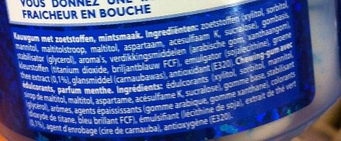 is-kauwgom-gezond-ingredienten