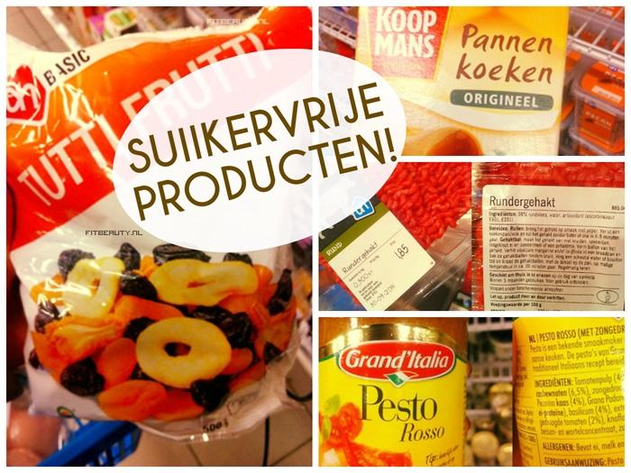 producten waar geen koolhydraten in zitten