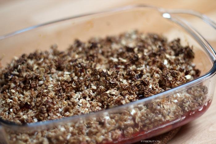 Recept-appel-aardbei-crumble-suikervrij-glutenvrij-13