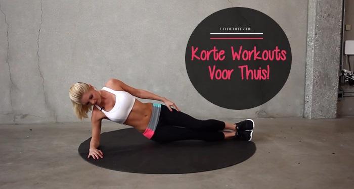 Korte workouts voor thuis binnen 10 minuten kapot fitbeauty - Voor thuis ...
