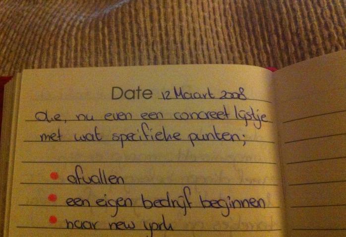 dagboek-doelen