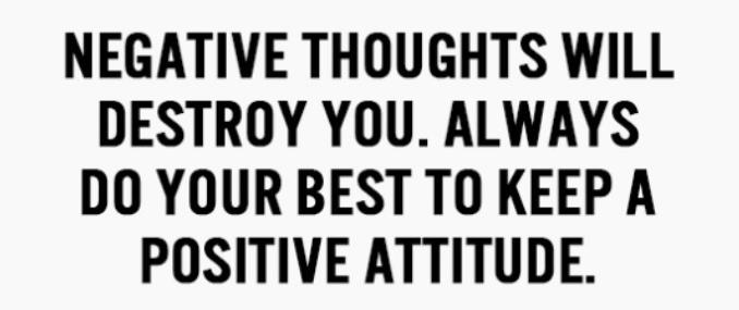 Denk Positief Is Geen Praktisch Advies Fitbeauty