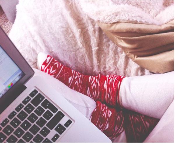 kerst-pyjama-sokken