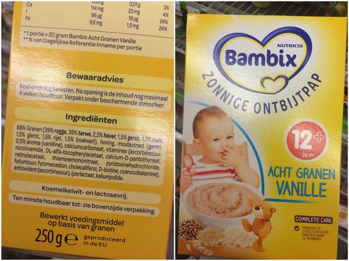 Bambix Licht Volkoren : Bambix acht granen vanille u beday space