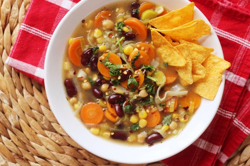 recept vegetarische maaltijdsoep