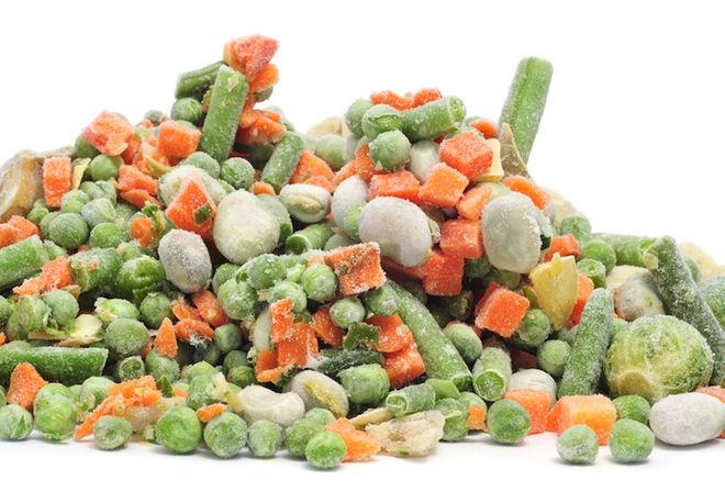 diepvries-groente