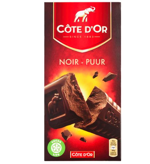 pure chocolade waar te koop