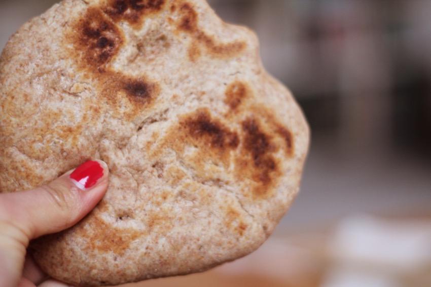recept-zelf-volkoren-pita-brood-maken-7