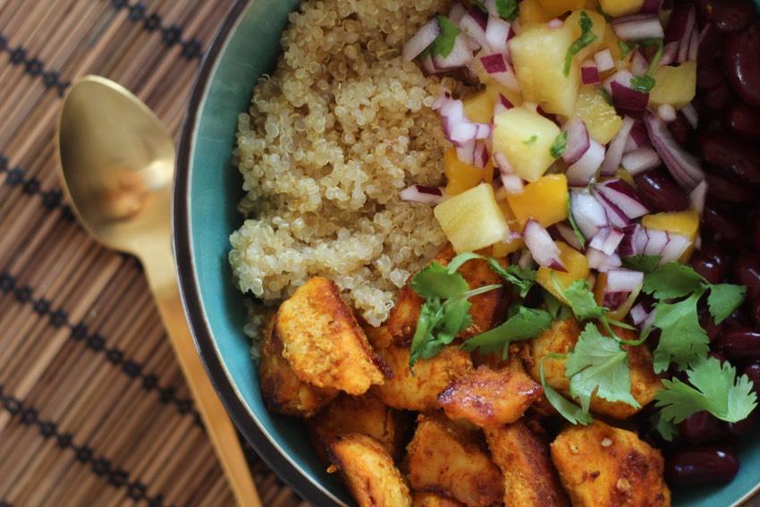 recept-quinoa-bowl-kip-bonen-11