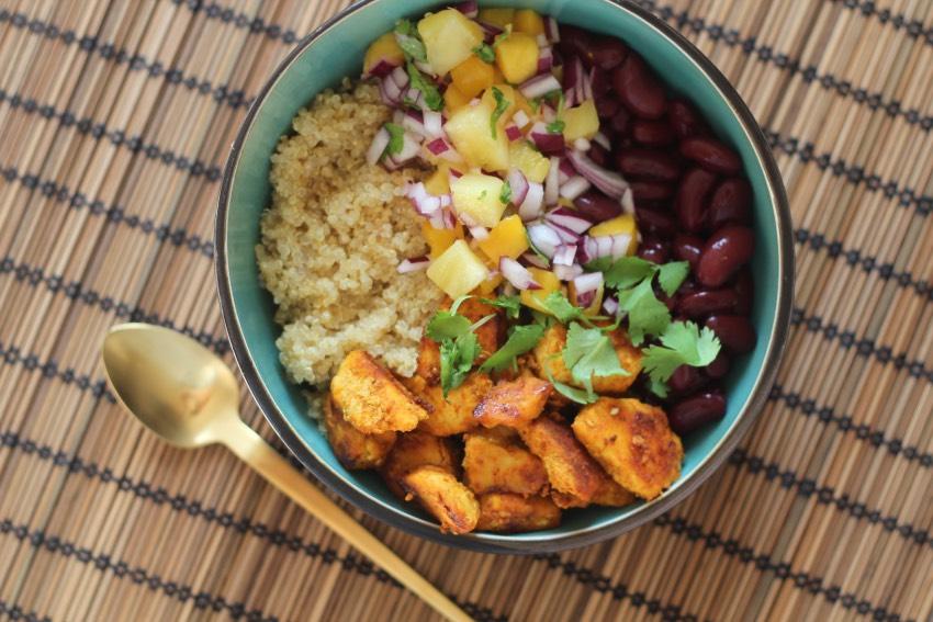 recept-quinoa-bowl-kip-bonen-7