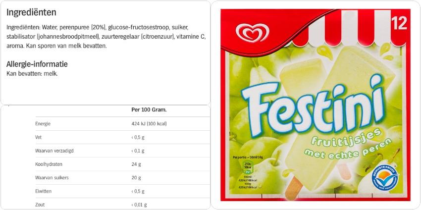 fruit met minste calorieen