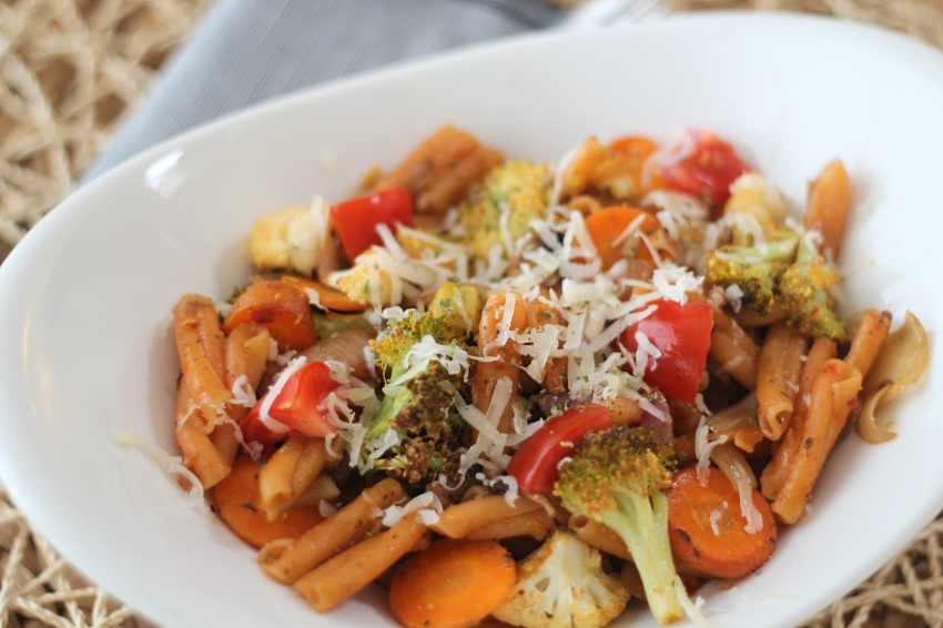 pasta vegetarisch recept